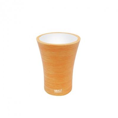 Nimco Atri - pohárek na kartáčky oranžový,  AT 5058-20