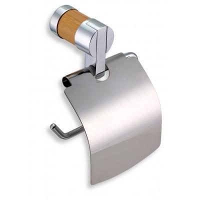 Ferro Bambus - Závěs toaletního papíru s krytem,  66238.6