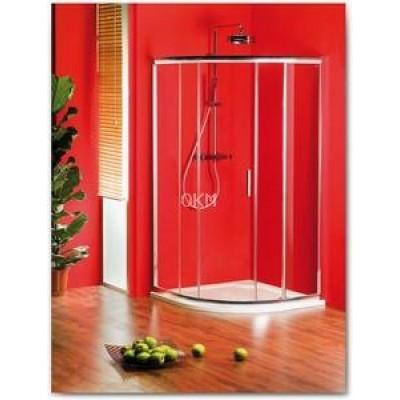 Sprchový kout GELCO SIGMA 90 čtvrtkruhový