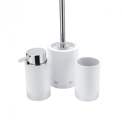 Lio -Dávkovač, pohárek, WC kartáč,    Li 25000SET-05