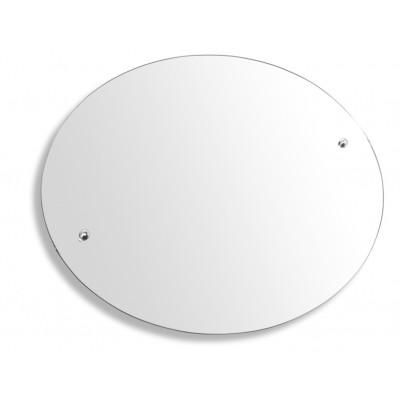 Metalia  3 - Zrcadlo s výklopným držákem ovál 60x50 cm,  6317.0  chrom