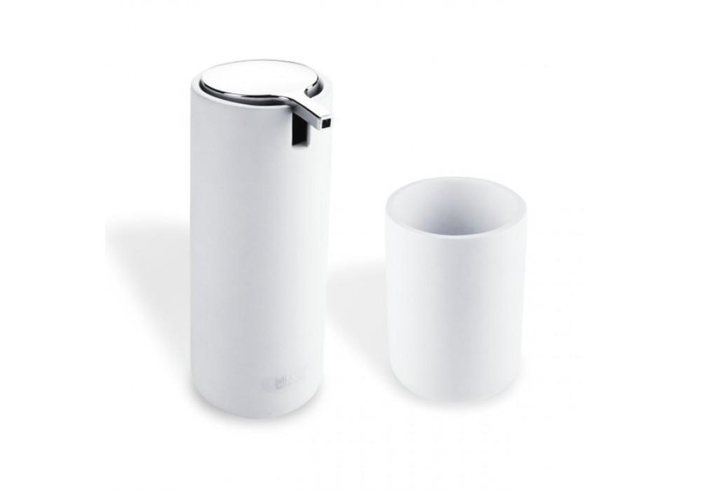 Omi - Dávkovač na tekuté mýdlo s pohárkem,  OM 1605831-05